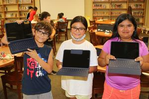 iPads for students at Taylor Middle School