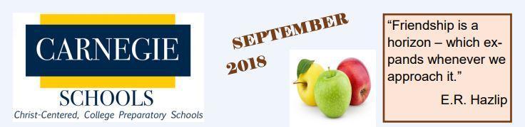 Preschool September Newsletter Featured Photo