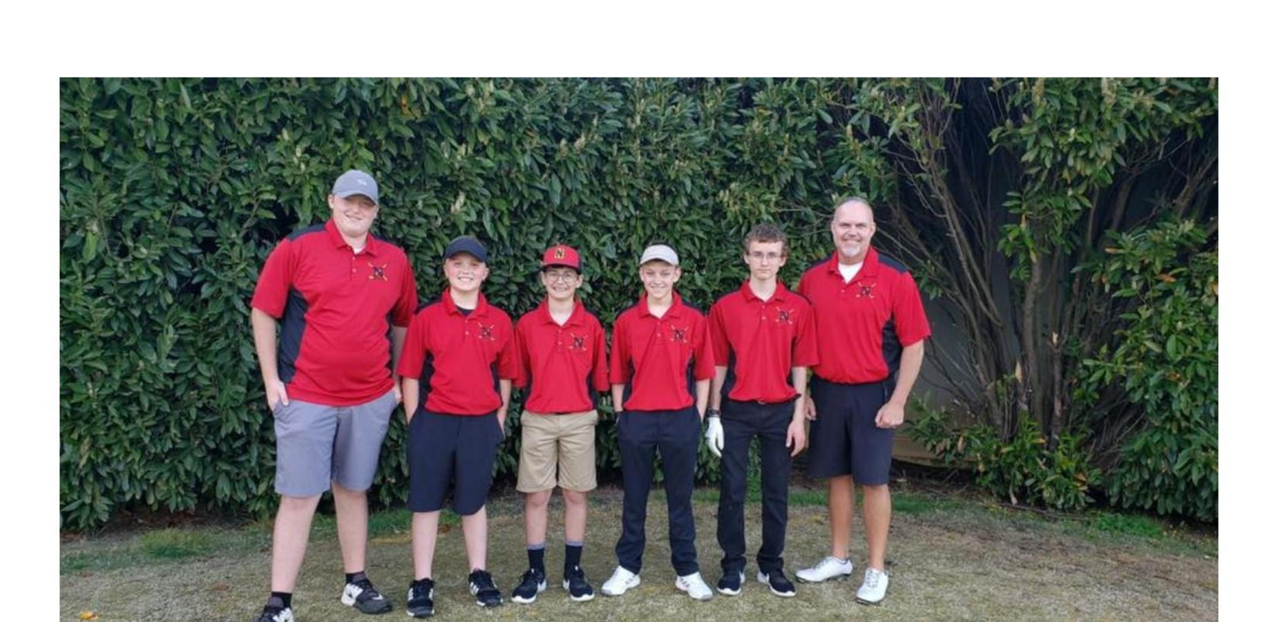 Photo of Nolachuckey golf team.