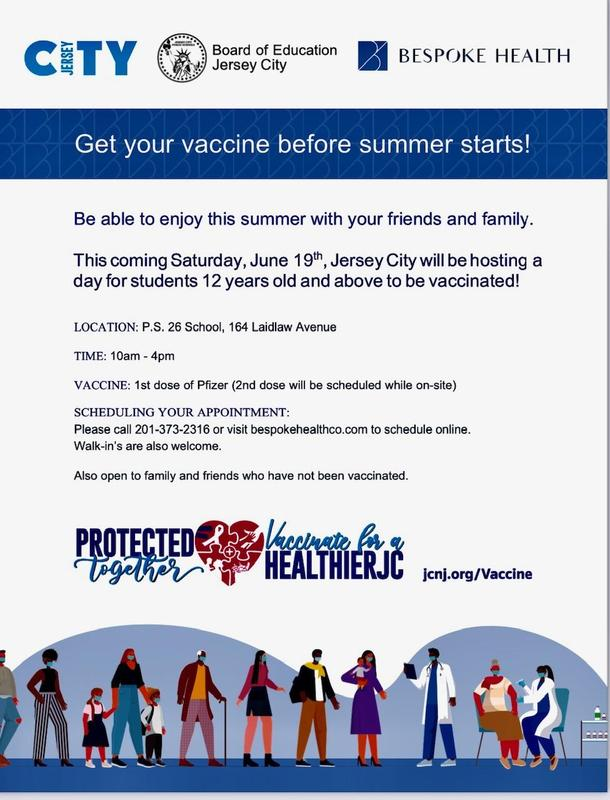 Student Vaccination Information Featured Photo