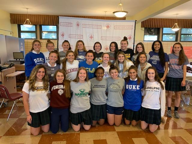 11 Percent of the Sacred Heart Academy Class of 2019 Committed to Colleges for Athletics Featured Photo