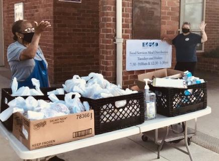 ESUSD Provides Free Meal Pick-up to ALL Children Twice Per Week Featured Photo