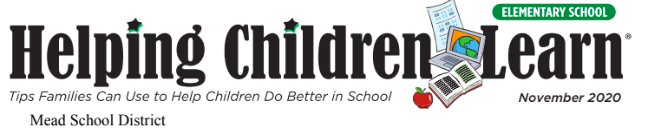 Helping Children Learn, November 2020 by Mead School District