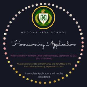 McComb High School Homecoming News 2021
