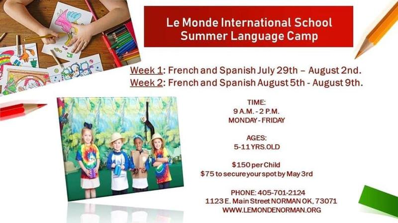 Summer Language Camp Featured Photo