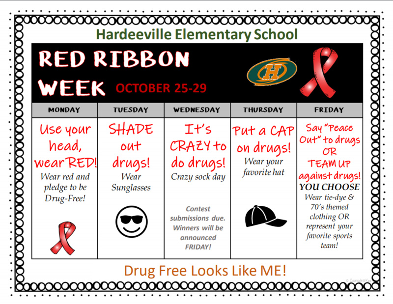 Red Ribbon Week 2021 Featured Photo