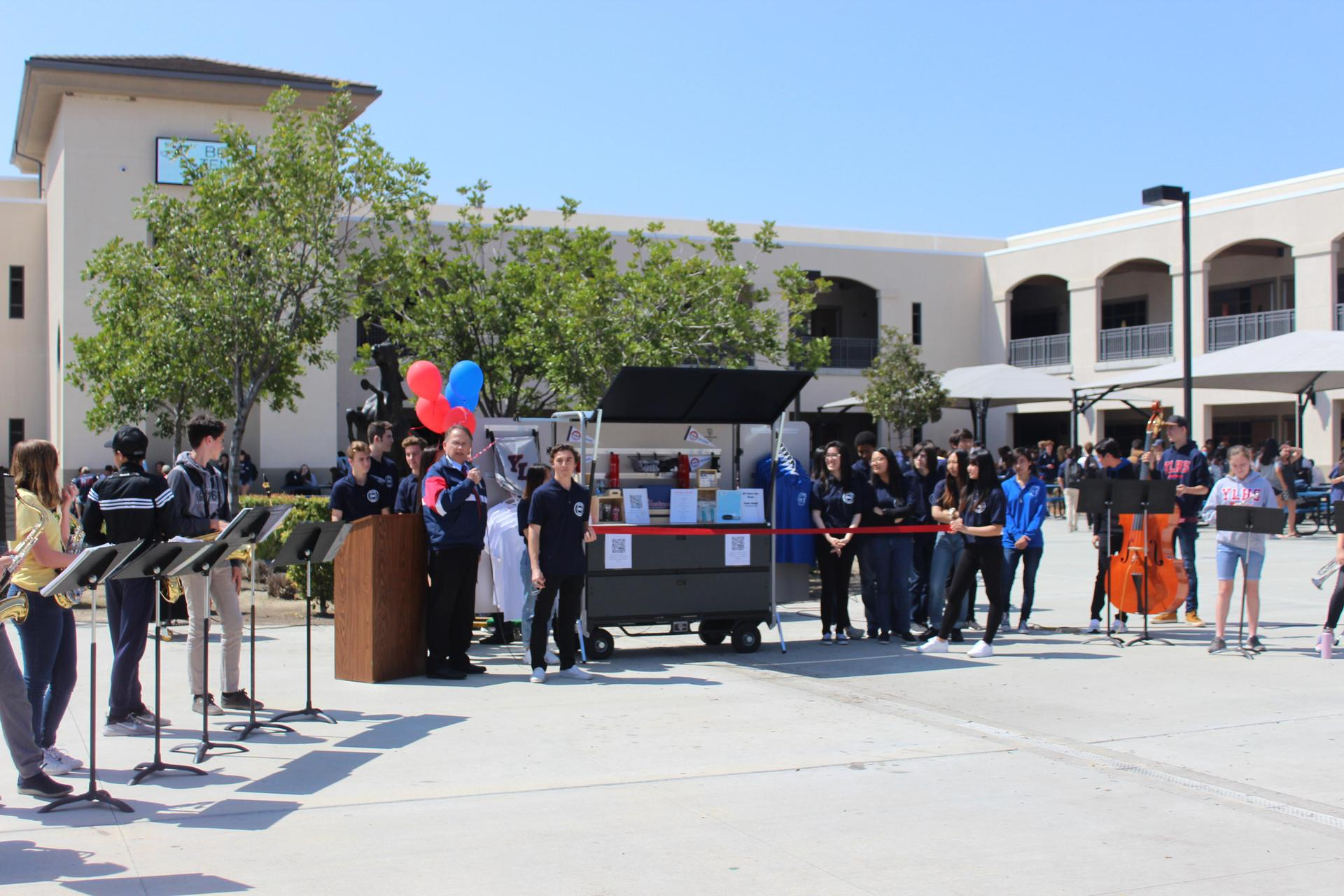 Grand Opening of the Mustang Market