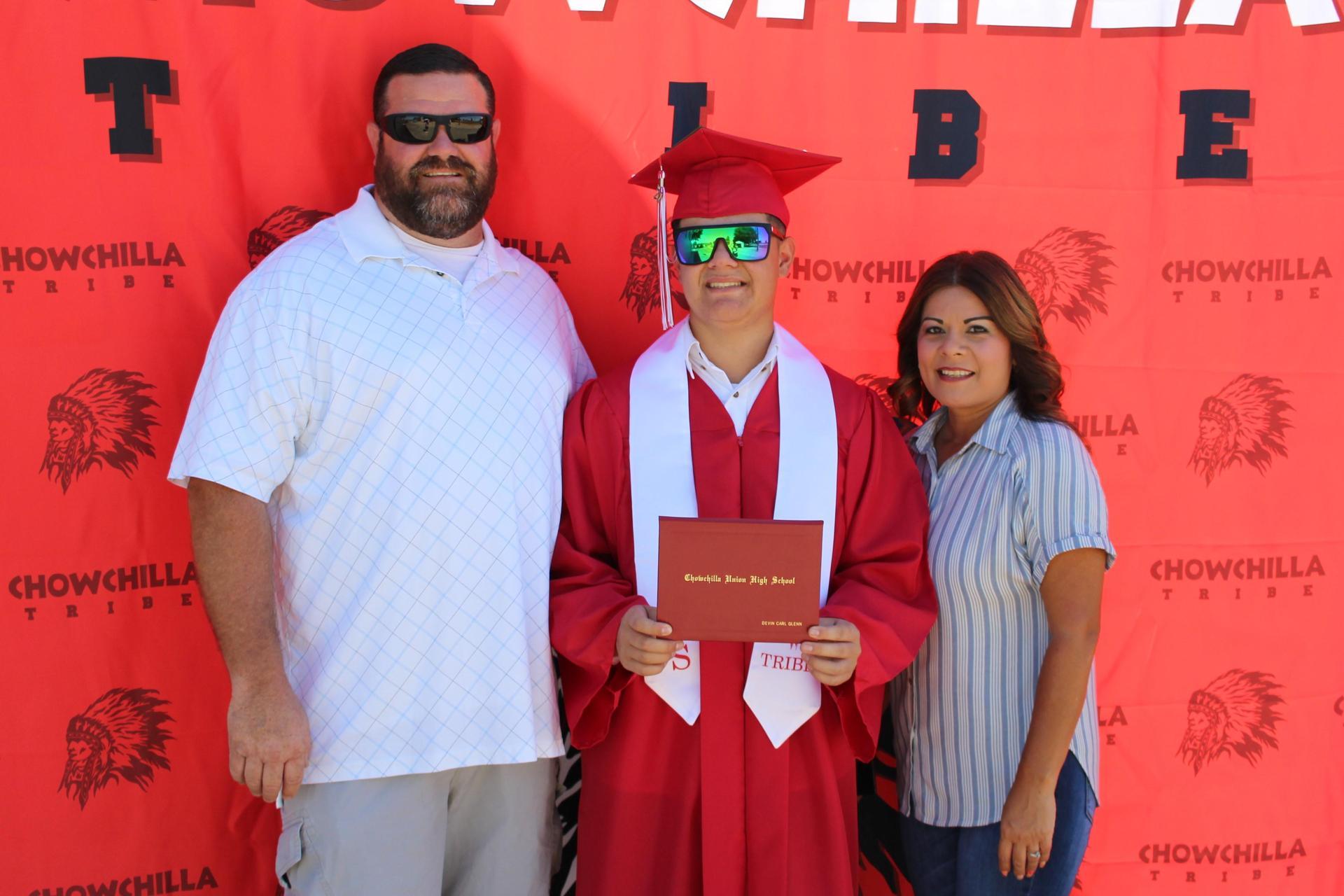 Devin Glenn and family