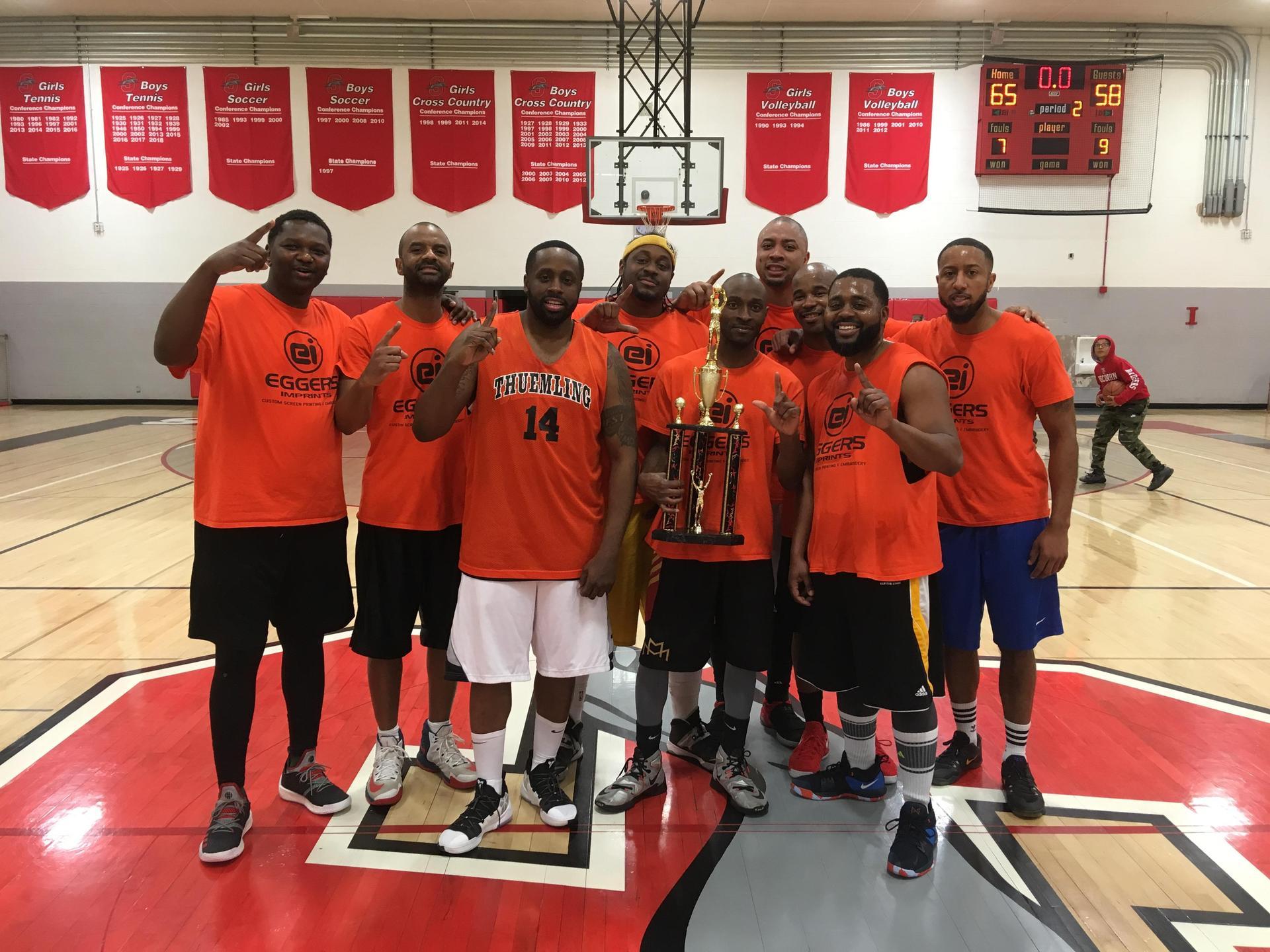 35+ Adult Basketball Champs