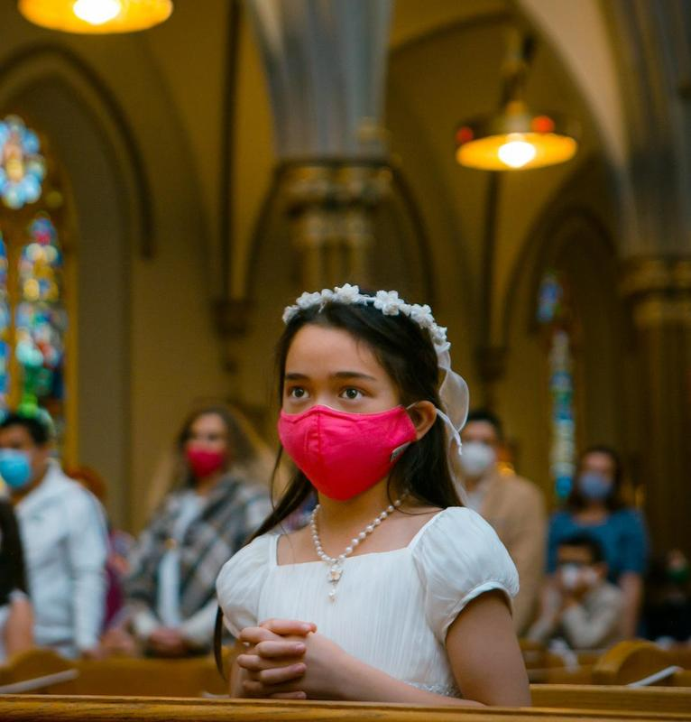 STCPS Grade 3 Students Receive First Communion Featured Photo