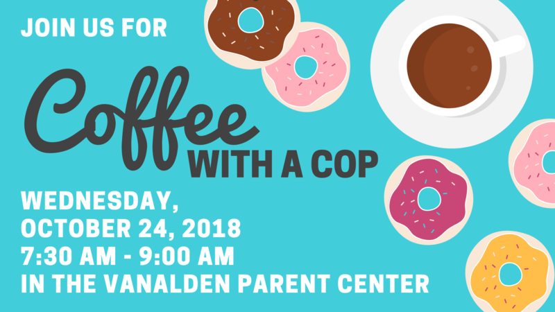 Coffee with a Cop: October 24, 2018 Thumbnail Image