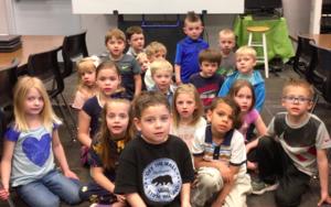Mrs. Ross' kindergartners