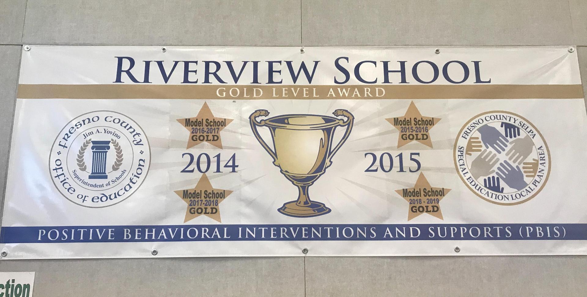 PBIS Model School Award