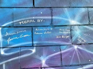 Signatures on Mural