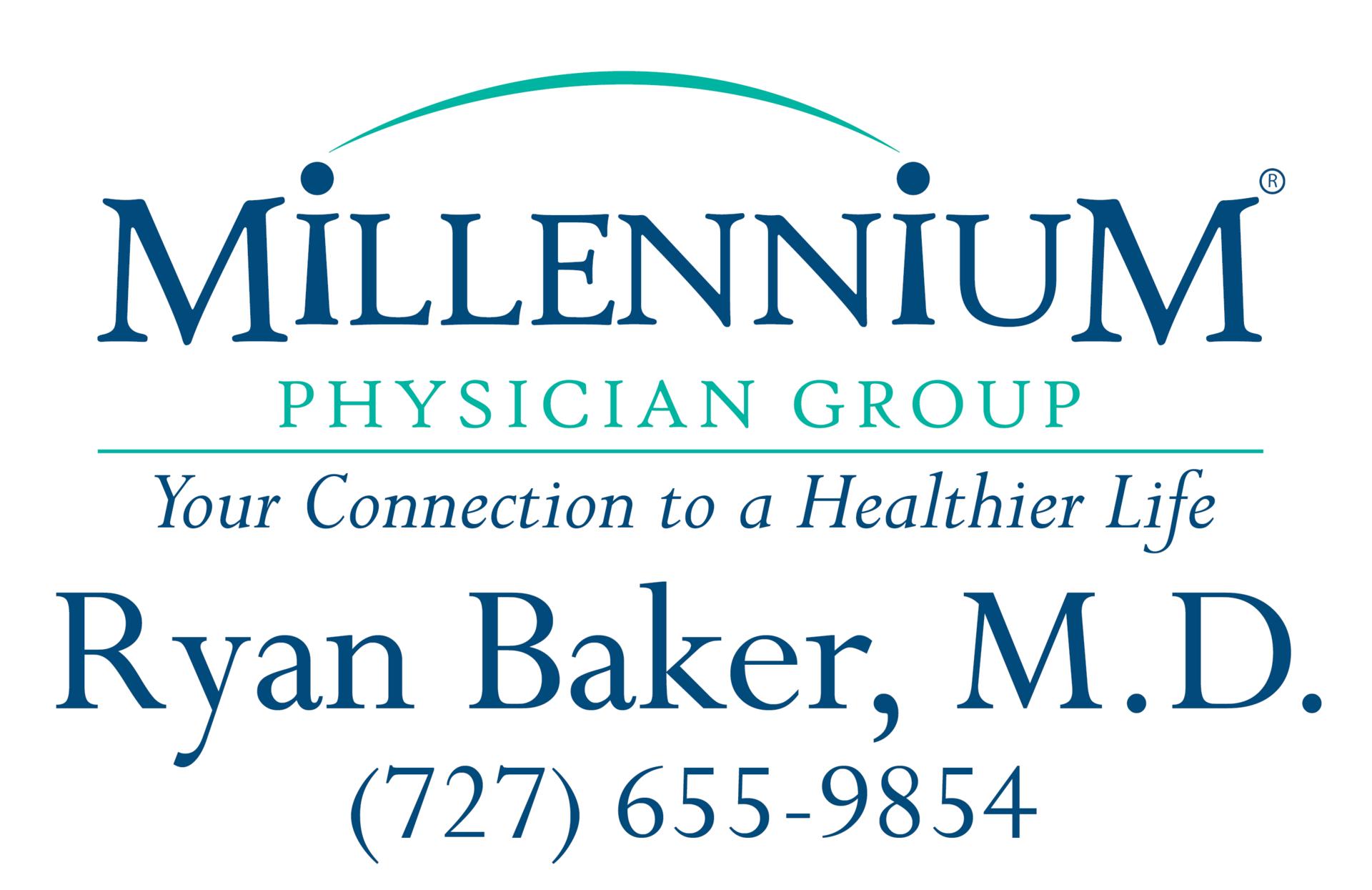 Ryan Baker, M.D. Logo