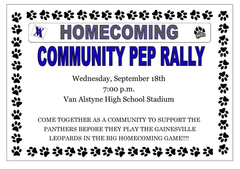 Community Pep Rally Thumbnail Image