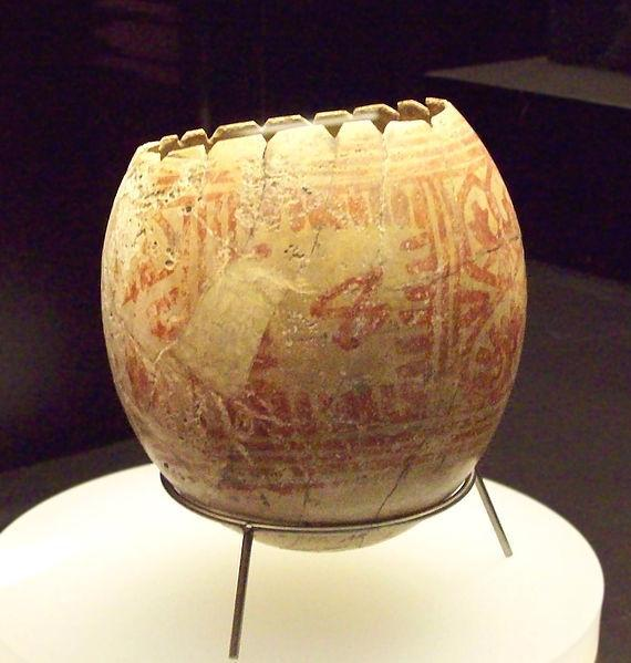 ancient ostrich egg