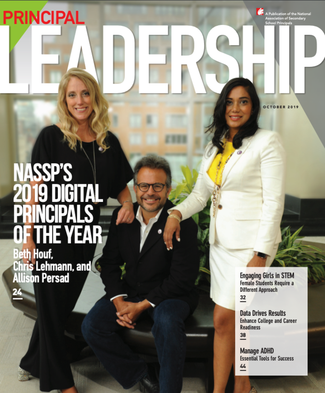 2019 Digital Principal Of The Year Featured Photo