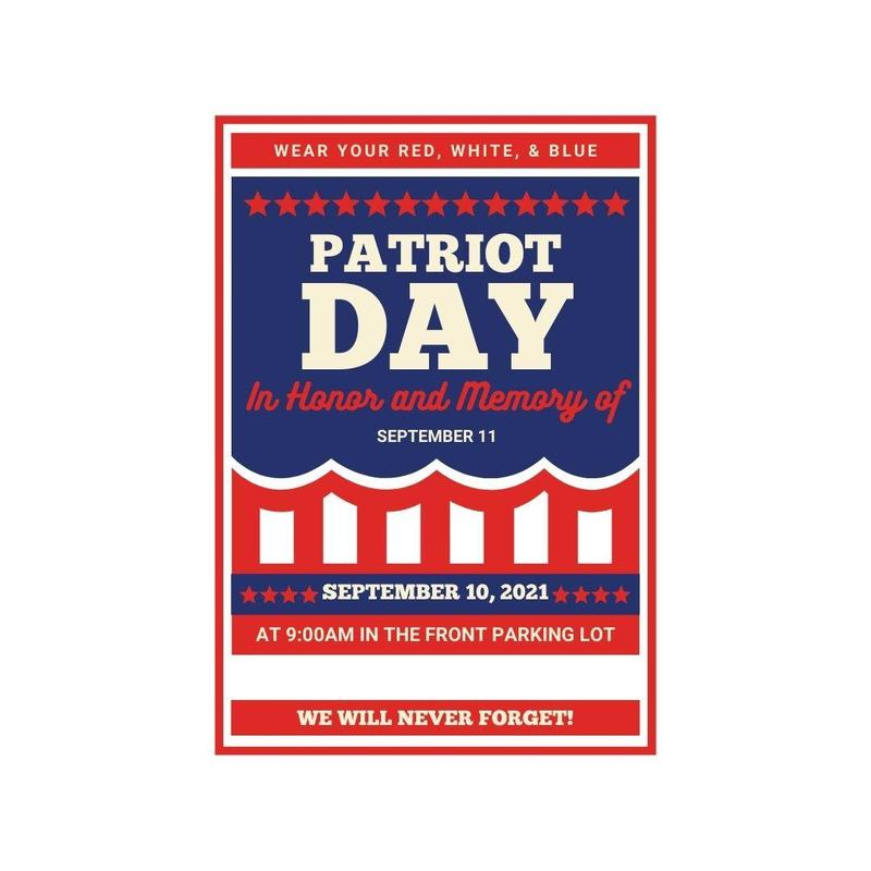Patriot Day - Wear Red, White & Blue Featured Photo