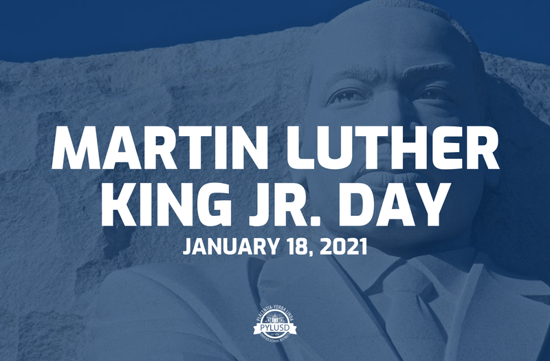 Martin Luther King Jr. Day School Closed 1/18/2021