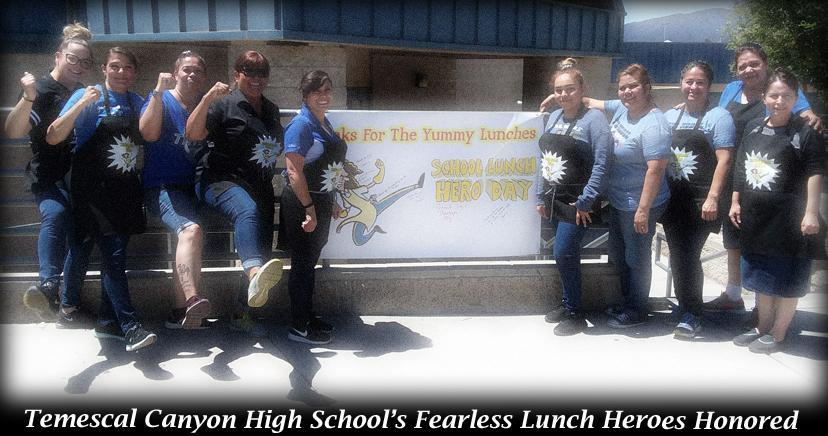 Ronald Reagan ES School Lunch Heroes 2018