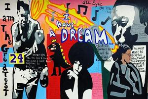 Black History mural 2