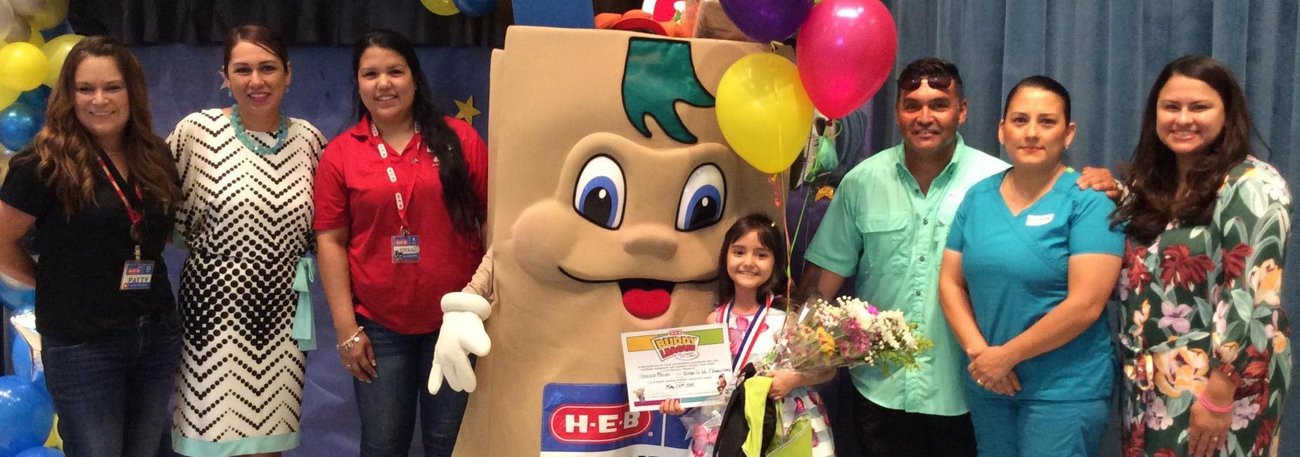 HEB Buddy Advocate Award