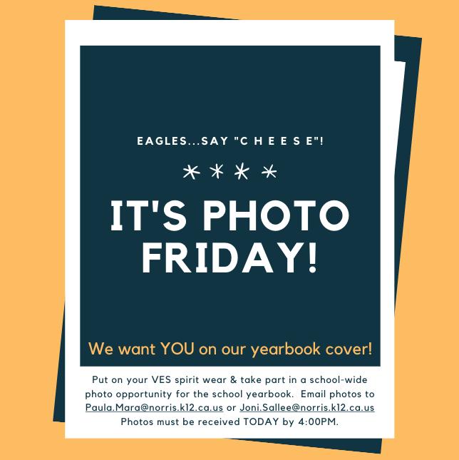 1/15 is Photo Friday! Thumbnail Image