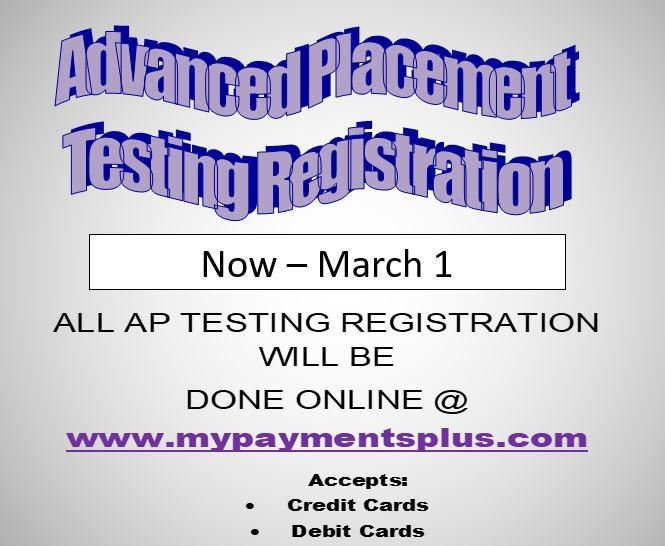 Advanced Placement (AP)Testing Registration Thumbnail Image