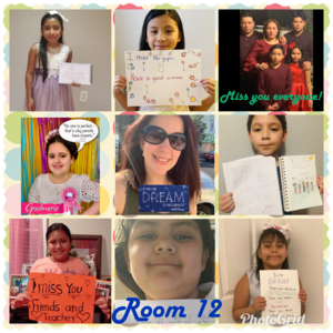 Grade 3, Ms. Journett, Room 12, End of the Year Collage
