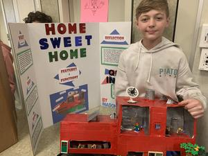 Student with Passion Project