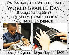 Today is World Bralle Day