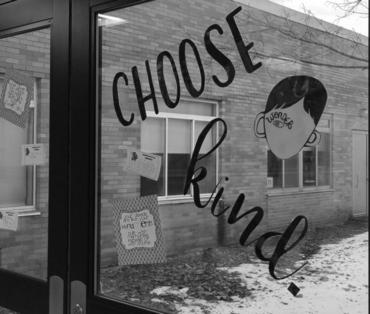 Choose kind in the middle school