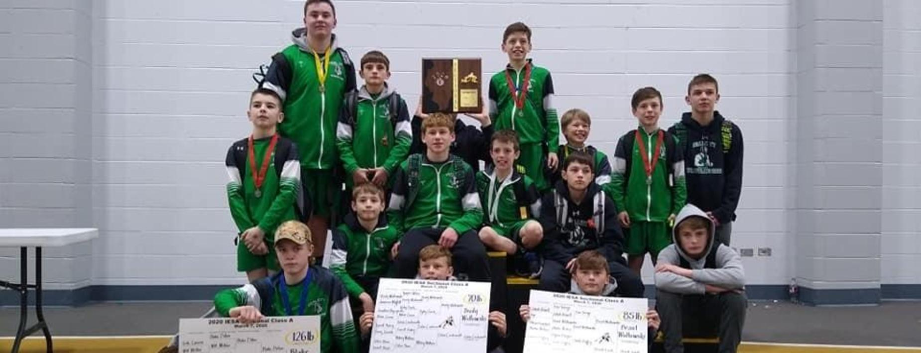 Heading to state wrestling - CCMS