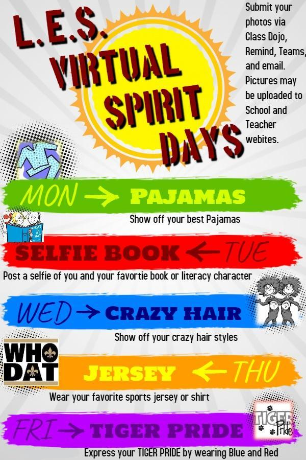 LES Virtual Spirit Week