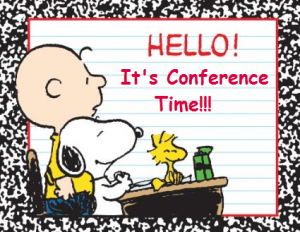 SIGN UP ONLINE FOR YOUR FALL CONFERENCE Thumbnail Image