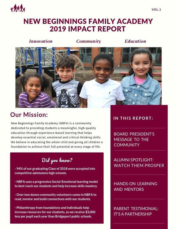 NBFA Impact Report published, please help support our mission Featured Photo