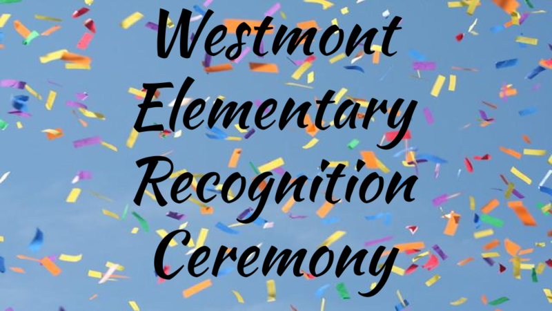 WES 5th grade recognition ceremony
