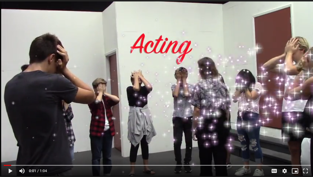 Acting Video Informational Link