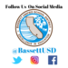 Follow us @Bassettusd