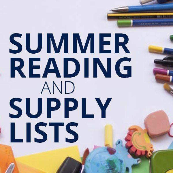 Summer Reading/Math and Supply Lists! Thumbnail Image