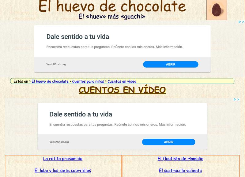 ESP chocolate recurso