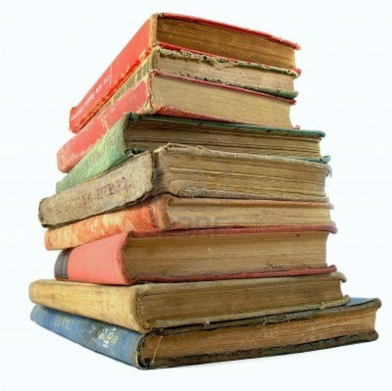 Image of a stack of books.