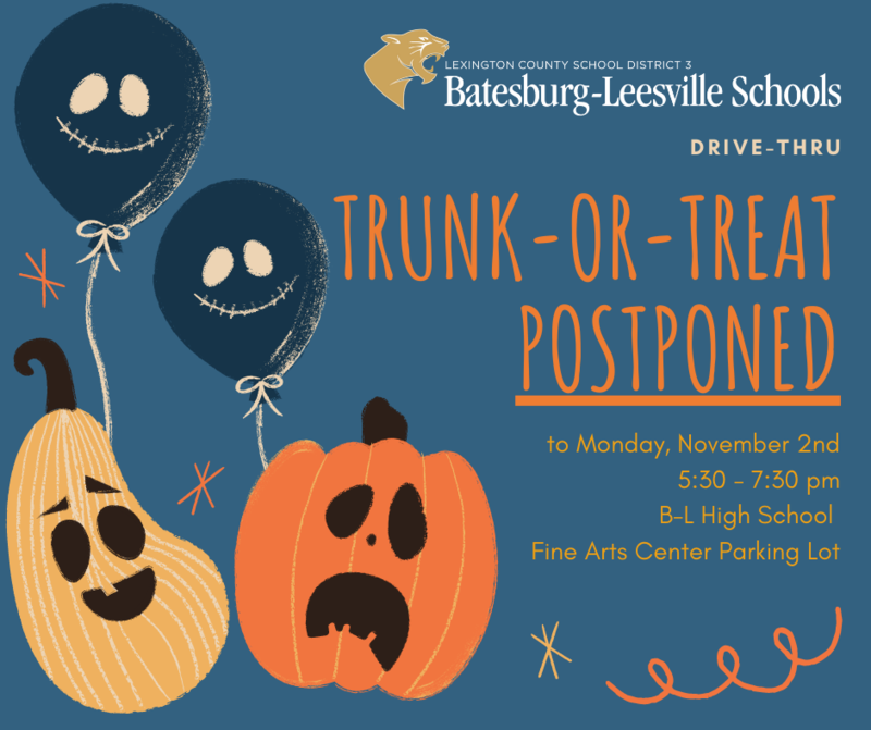 Lexington Three Trunk-or-Treat MOVED