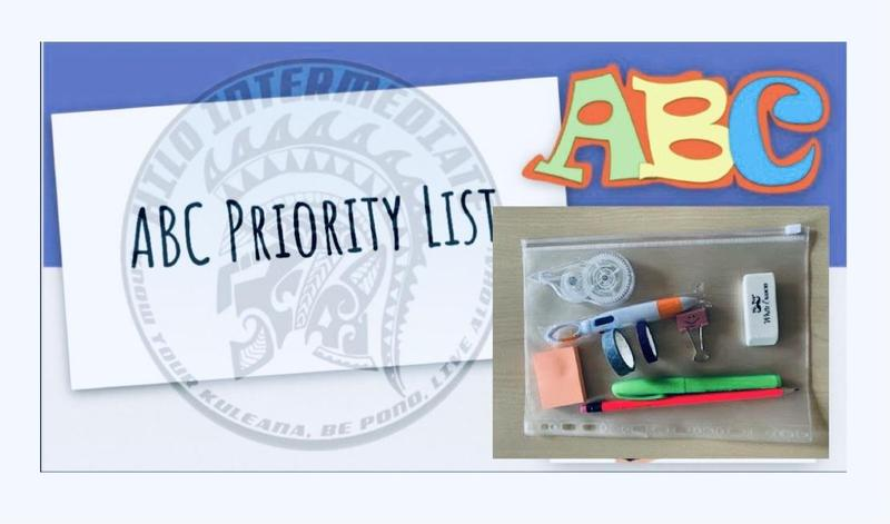 ABC Priority List: Learn to Organize and Prioritize is Back by Popular Demand Featured Photo