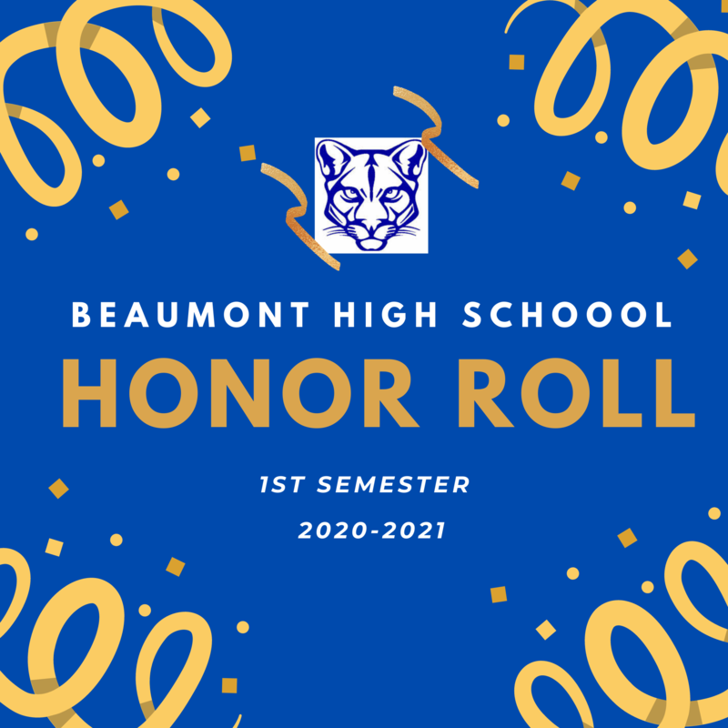 BHS 1st Semester Honor Roll Featured Photo