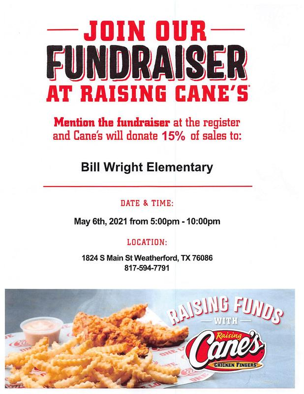 Wright night at Raising Cane's! (click here) Featured Photo
