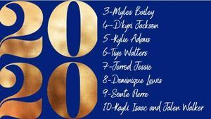 Top 3 - 10 Graduates
