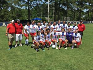 2019 TBS varsity girls soccer state championship