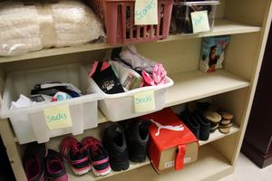 A new in-school supply room known as The Panther Pantry has been set up at B-L Middle School for students in need.  The program is in its infancy stage and is seeking donations from community members, churches and local organizations.